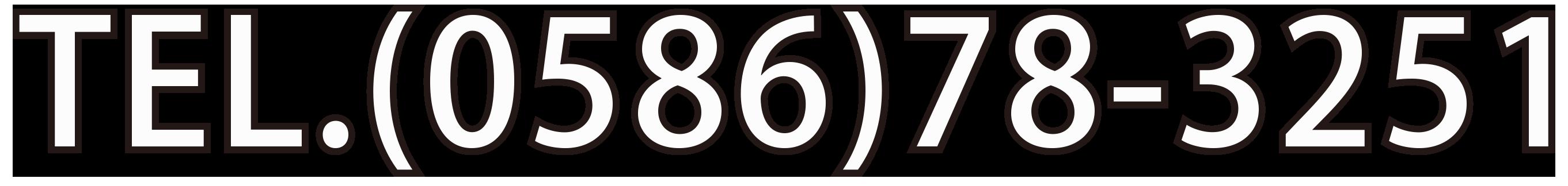 TEL(0586)78-3251